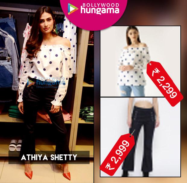 Weekly Celebrity Splurges - Athiya Shetty