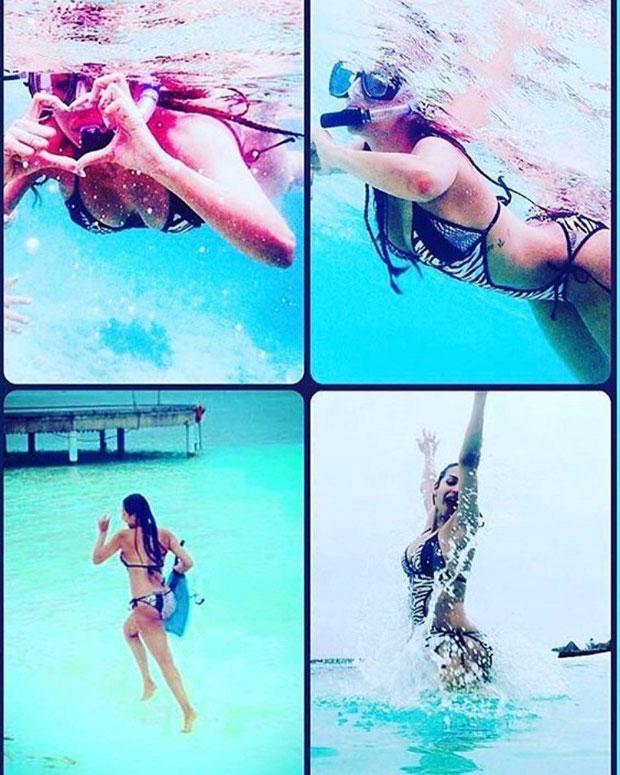 FlashbackFriday Malaika Arora is giving us beach goals with this throwback BIKINI image