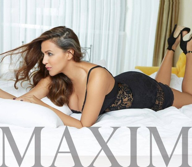 This HOT Maxim photoshoot of new bride Neha Dhupia will leave you SWEATING!