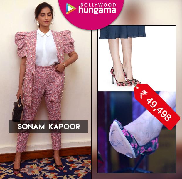 Weekly Celebrity Splurges - Sonam Kapoor Ahuja