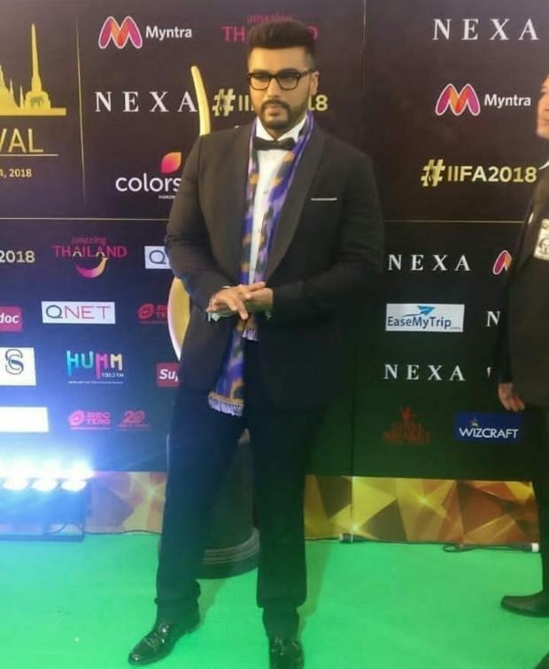 Arjun Kapoor goes dapper but quirky for IIFA 2018 Awards