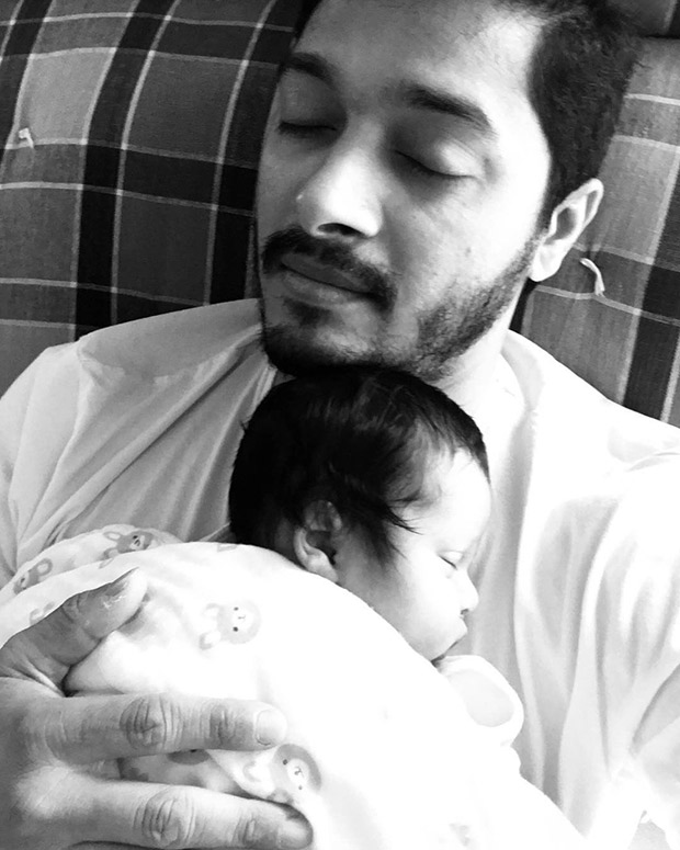 Aww! Shreyas Talpade posing with his little angel is a picture worth MILLION words of love