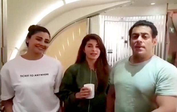 Before kick starting Da-Bangg Tour in US, Salman Khan, Jacqueline Fernandez, Daisy Shah thank fans after Race 3 success