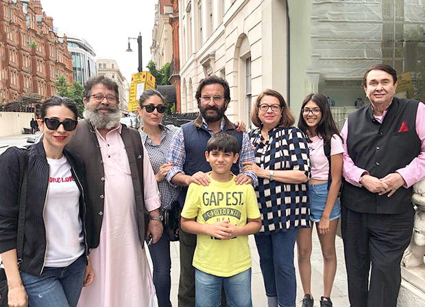 Check out! Saif Ali Khan and Kareena Kapoor get together with the entire Kapoor clan in London