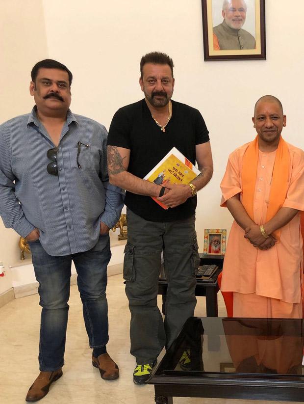 Check out: Sanjay Dutt & Rahul Mittra meet Uttar Pradesh CM Yogi Adityanath