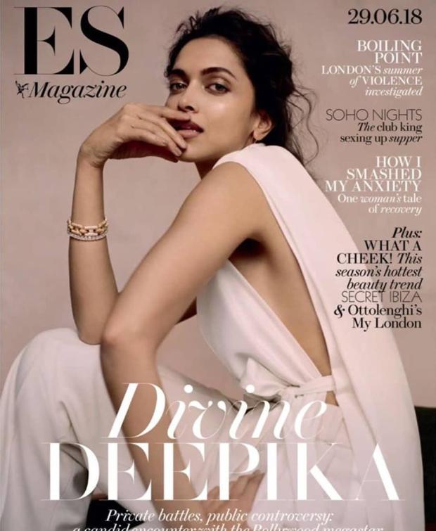 Deepika Padukone magazine cover