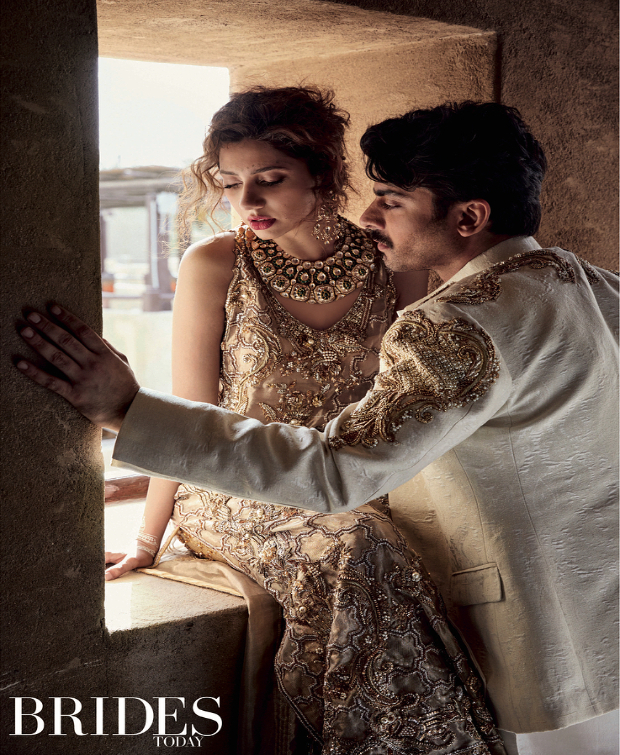 Fawad Khan and Mahira Khan for Brides Today