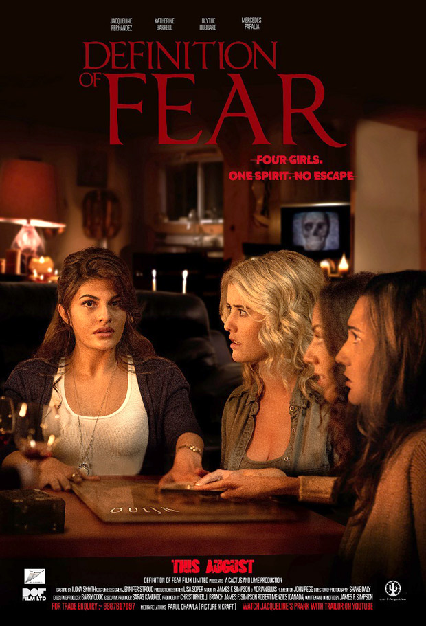 Jacqueline Fernandez makes her Hollywood debut with Definition Of Fear