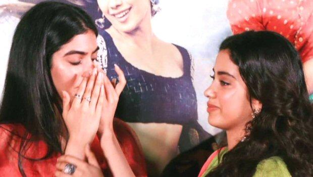 Khushi Kapoor gets emotional after watching sister Janhvi Kapoor's Dhadak trailer