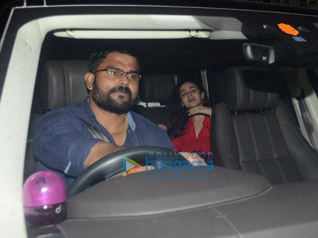 Lovebirds Ranbir Kapoor-Alia Bhatt spend time with parents Rishi- Neetu Kapoor and Sanjay Dutt ahead of Sanju (see pics)