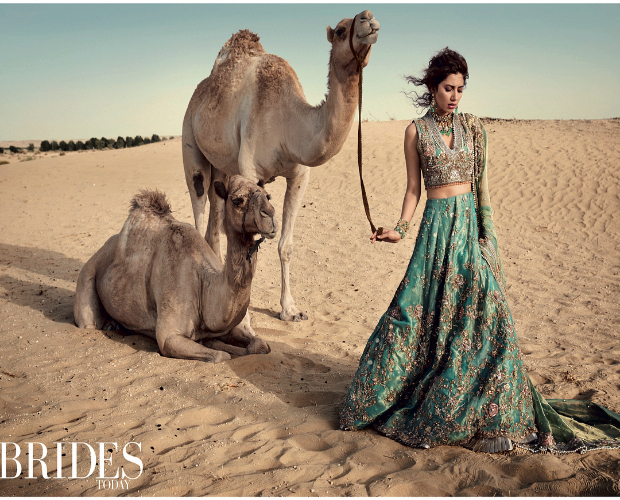 Mahira Khan for Brides Today