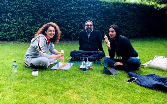 Mental Hai Kya Kangana Ranaut and Rajkummar Rao get goofy in London