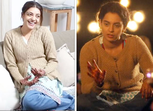 Paris Paris Kajal Aggarwal resembling Kangana Ranaut in the Tamil remake of Queen is UNCANNY!