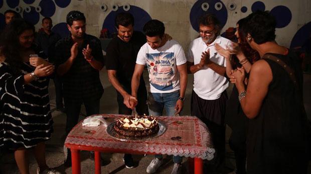 Rajkummar Rao wraps up Fanne Khan with a party; Aishwarya Rai Bachchan and Anil Kapoor join the celebrations