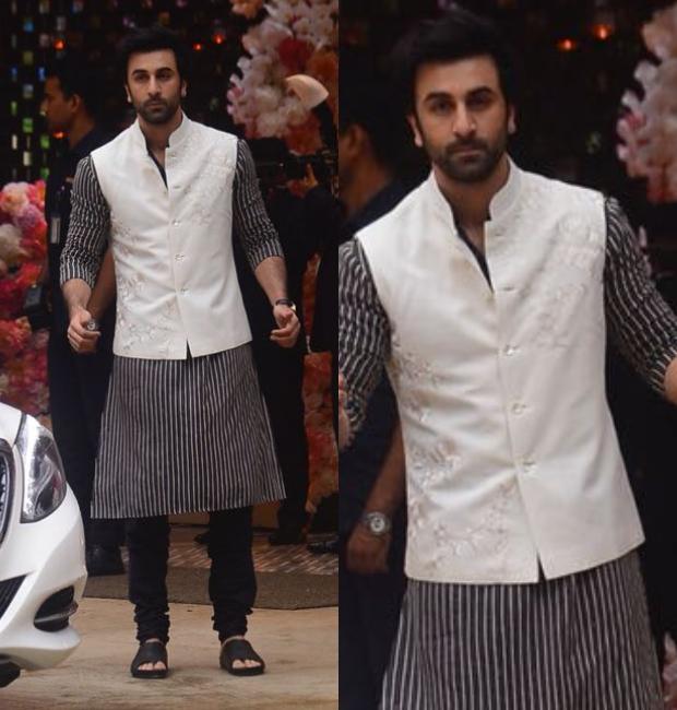 Ranbir Kapoor at the Ambani bash