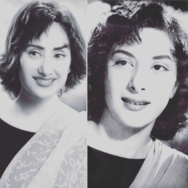 SANJU: This picture featuring Manisha Koirala and Nargis will give you goosebumps