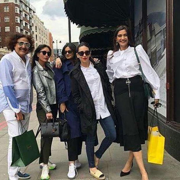 Saif Ali Khan, Kareena Kapoor Khan take Taimur for merry go round ride; take Sonam Kapoor, Anand Ahuja and gang for lunch in London