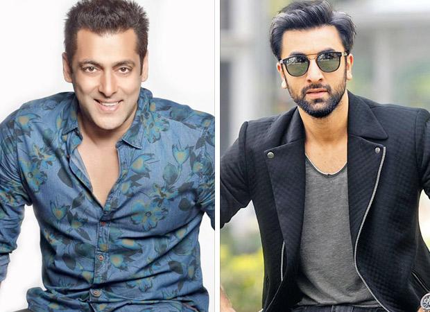 Salman Khan and Ranbir Kapoor play the dodge game