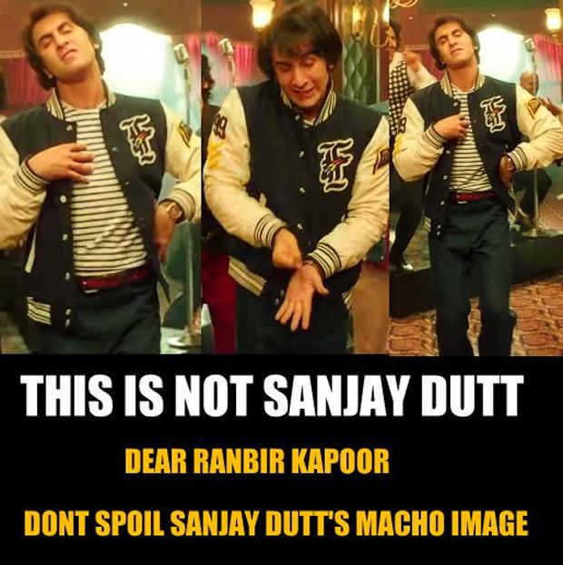 Sanjay Dutt fans SLAM Ranbir Kapoor for Sanju song Main Badhiya Tu Bhi Badhiya; here's why