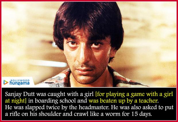 12 Lesser known facts about Sanjay Dutt's tumultuous life