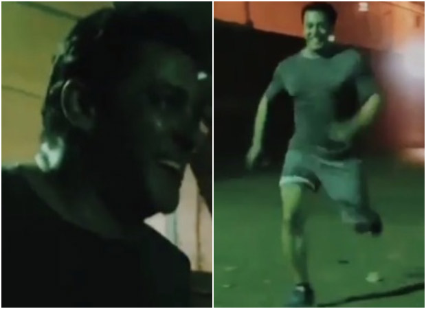 WATCH Salman Khan races with a horse; guess who wins