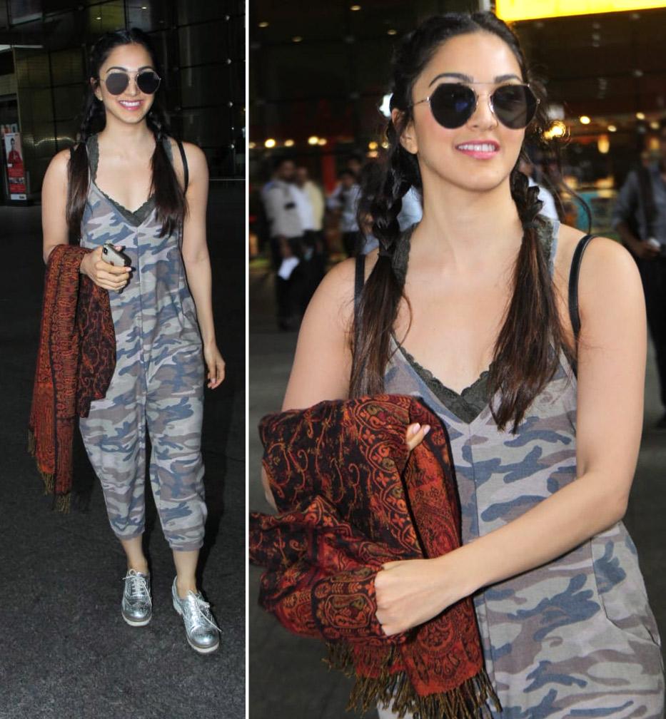 Airport Style - Kiara Advani