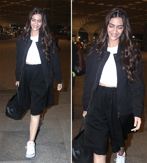 Airport Style - Sonam Kapoor