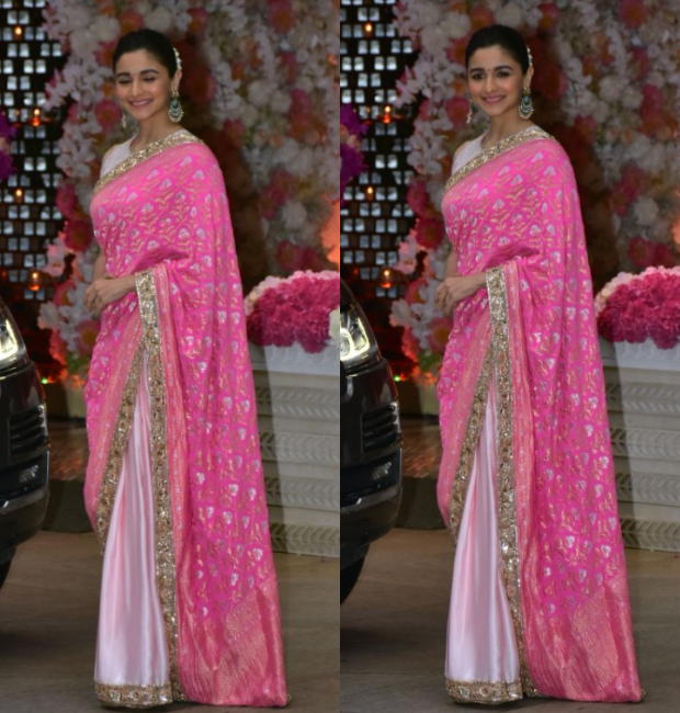 Alia Bhatt at Ambani bash