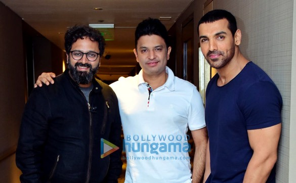 Bhushan Kumar, Nikkhil Advani, and John Abraham join hands for Batla House