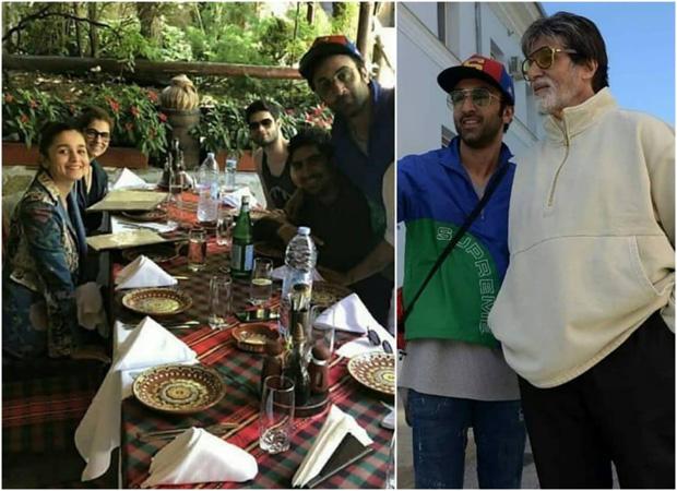 Brahmastra diaries: Ranbir Kapoor and Alia Bhatt lunch with Dimple Kapadia, Amitabh Bachchan flaunts selfies in NYC (see pics)