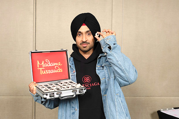 Diljit Dosanjh becomes first actor and singer from Punjabi industry to have his own wax figure at Madame Tussauds Delhi