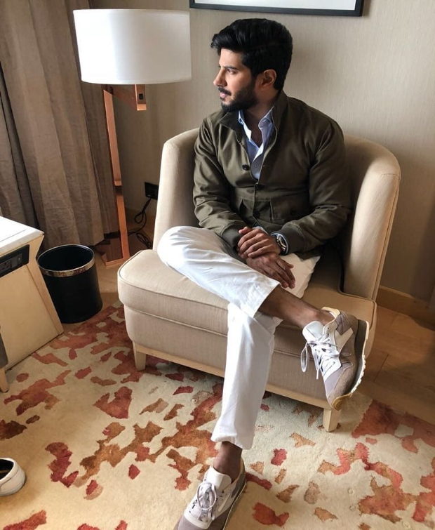 Dulquer Salmaan promotional style 3