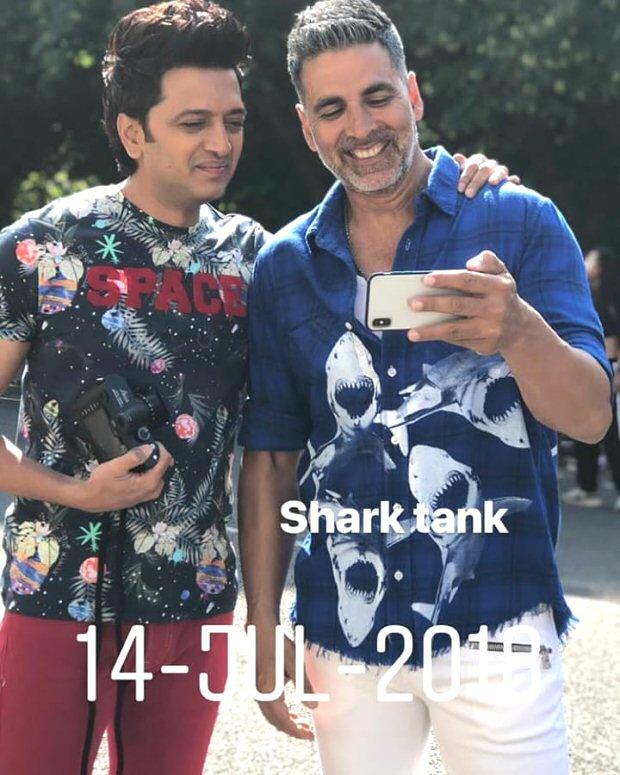 HOUSEFULL 4: Farah Khan shares pictures of Akshay Kumar, Kriti Sanon and Riteish Deshmukh from London