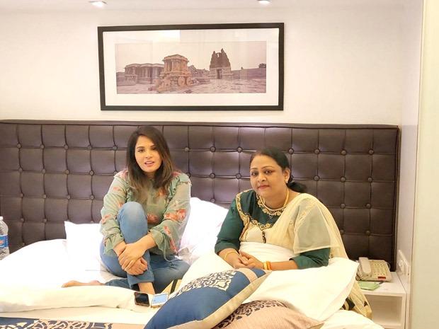 SHAKEELA BIOPIC Richa Chadha meets the adult film star Shakeela ahead of the film's shoot
