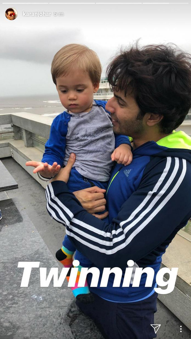 This pic with Yash Johar is proof that Varun Dhawan is perfect papa material