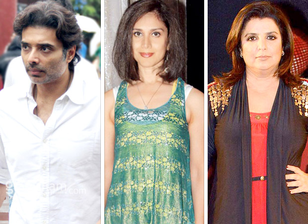 Twitter tattle: When Uday Chopra MISTOOK Meenakshi Seshadri for Farah Khan and Farah busted his confusion