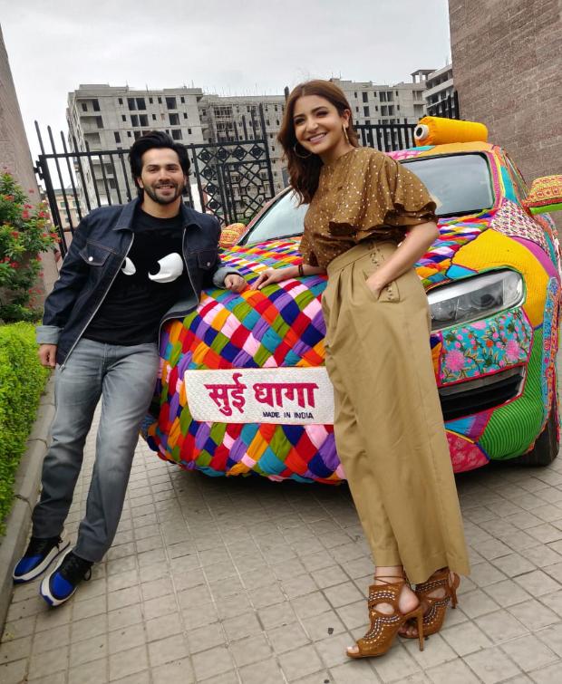 Anushka Sharma in Koashee and Zara for Sui Dhaga-Made in India promotions (3)