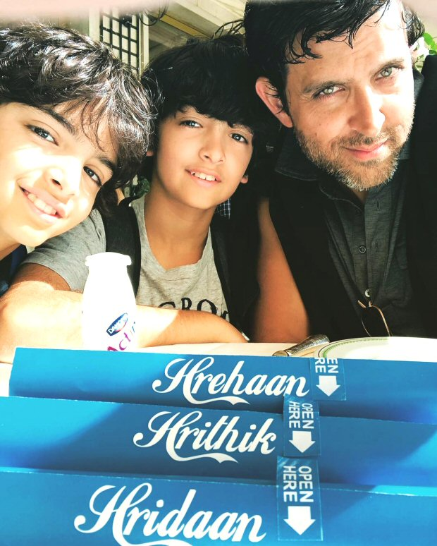 Hrithik Roshan sets new parent goals as he shares the adventures with is new bffs, his sons