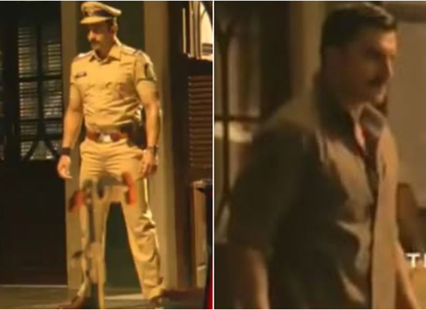 On Independence Day, Ranveer Singh shares a sneak peek from Rohit Shetty's Simmba