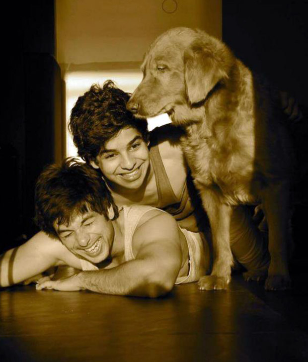 Shahid Kapoor and Ishaan Khatter's BEAUTIFUL throwback photo with their pet is winning the Internet (see pic)