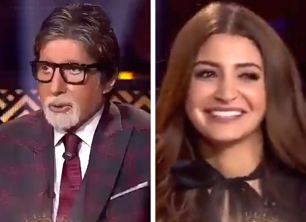 Amitabh Bachchan jokingly calls out Anushka Sharma on her PDA with Virat Kohli on field (watch video)