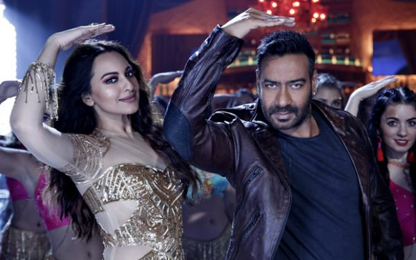 FIRST LOOK Ajay Devgn and Sonakshi Sinha recreate Helen's iconic track 'Mungda' in Total Dhamaal