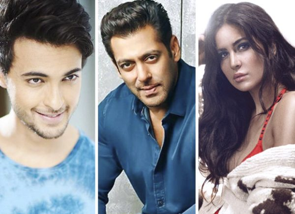 Loveyatri star Aayush Sharma opens up about Salman Khan's link up with Katrina Kaif (watch EXCLUSIVE video)