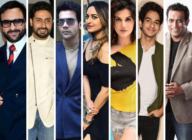 SCOOP: Saif Ali Khan, Abhishek Bachchan, Rajkummar Rao, Sonakshi Sinha, Taapsee Pannu, Ishaan Khatter to star in Anurag Basu's next