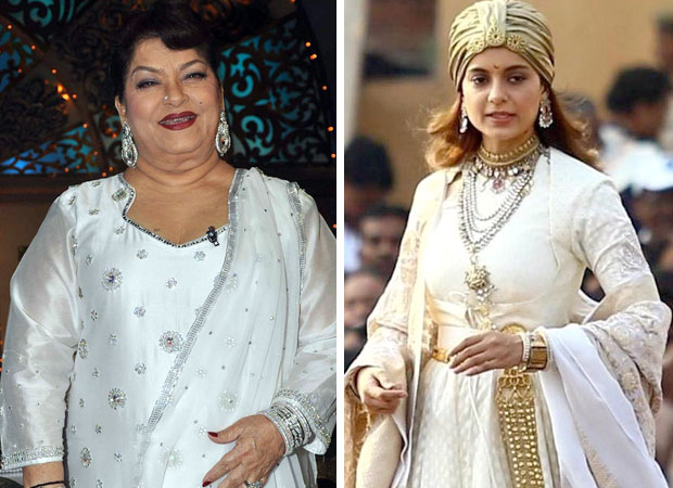 Saroj Khan to shoot a romantic song in a day for Kangana Ranaut in Manikarnika - The Queen Of Jhansi