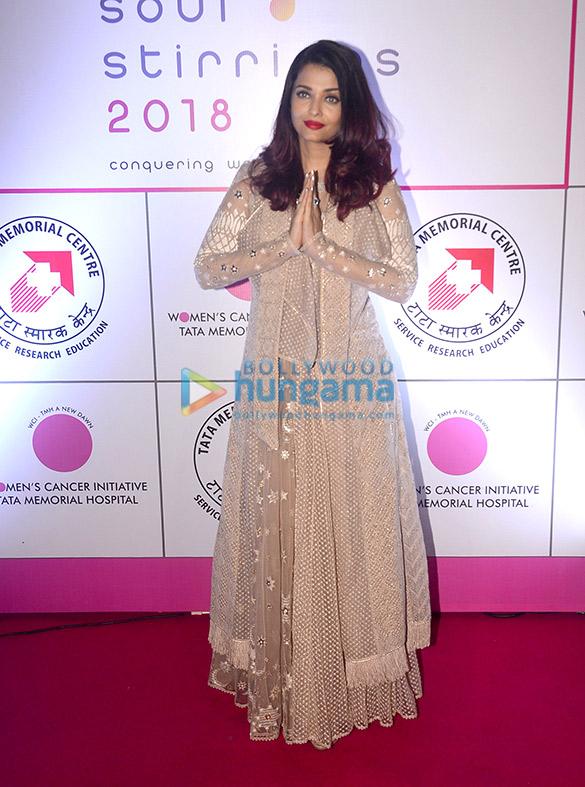 Aishwarya Rai Bachchan in Tarun Tahiliani for a Breast Cancer Awaress Initiative (1)