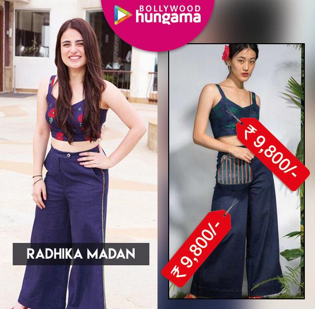 Celebrity Splurges - Radhika Madan