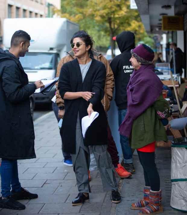 Check out: Priyanka Chopra, Siddharth Roy Kapur and Shonali Bose on sets of The Sky is Pink