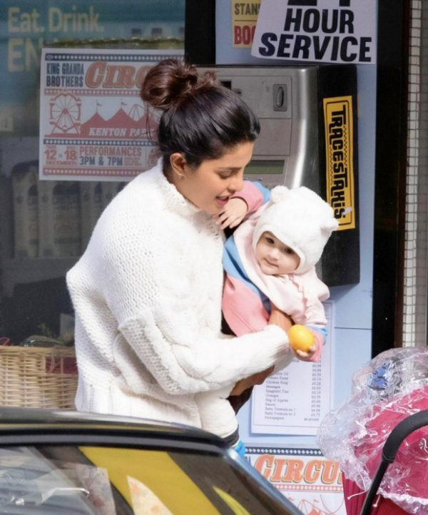 FIRST PIC LEAKED Priyanka Chopra shoots with a baby for Farhan Akhtar's The Sky Is Pink (see pics)