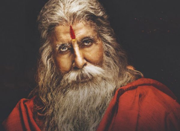 Here's the MOTION POSTER of Amitabh Bachchan as Gosayi Venkanna from Sye Raa Narasimha Reddy starring Chiranjeevi